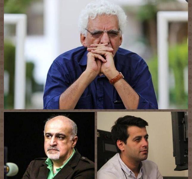 خبرنگاران کیومرث پوراحمد برای تولید فیلم کودک مشاوره می دهد
