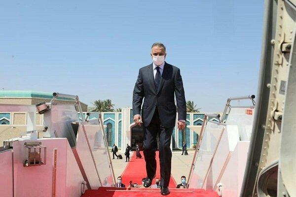 الکاظمی بغداد را به مقصد تهران ترک کرد