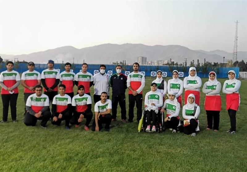 برگزاری مسابقات درون اردویی کمانداران در تهران