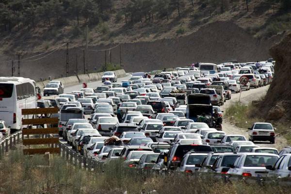 شرایط راه ها یکشنبه 1 فروردین؛ ترافیک نیمه سنگین در محور چالوس