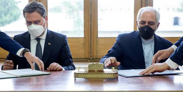 امضای یادداشت تفاهم همکاری بین وزارتخانه های امور خارجه ایران و صربستان