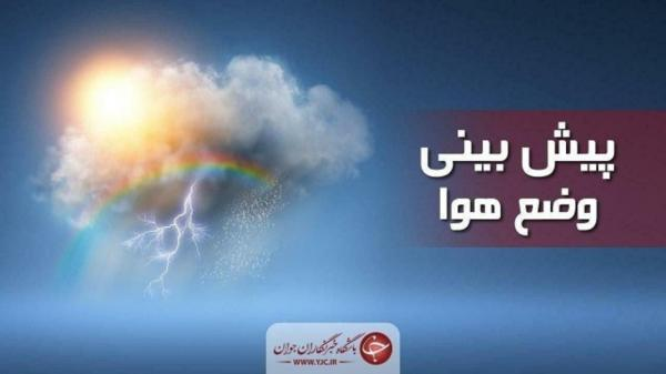 دربرگیری ابر های بی باران در آسمان استان همدان